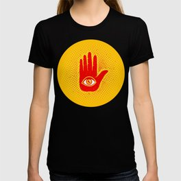 Hand and eye T-shirt