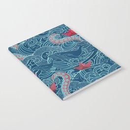 Octopus Ocean Playground smaller print Notebook