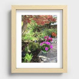 flowers Recessed Framed Print