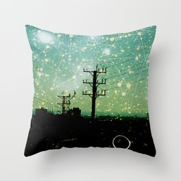 Constellations (2) Throw Pillow