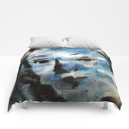 VENUSIAN FACE2 (PUZZLED DISK VERSION) Comforters