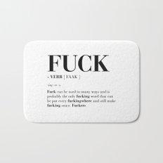 FUCK Bath Mat