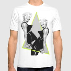 + TORTURE ME + Mens Fitted Tee White SMALL