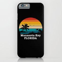 Manasota Key FLORIDA iPhone Case
