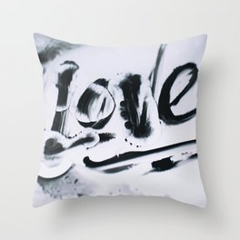 Ink Love Throw Pillow