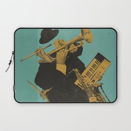 ABSTRACT JAZZ Laptop Sleeve