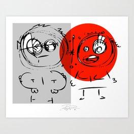 The Couple Art Print