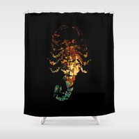 drive Shower Curtains featuring Drive by Carlo Spaziani