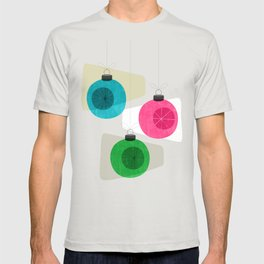 Retro Holiday Baubles T-shirt