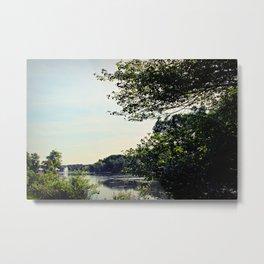 Lakeside Metal Print