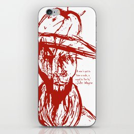 Cowboy Creed iPhone Skin