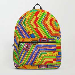 Stained Glass Kaleidoscope Backpack