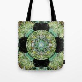 Floral Sphere Tote Bag
