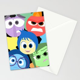 Pixar Animated Movie Inside Out Stationery Cards