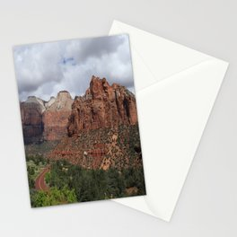 A View From Zion Mount Carmel Road  Stationery Cards