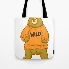 Wild, Animal, Forest Tote Bag