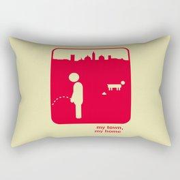 My town, my home Rectangular Pillow