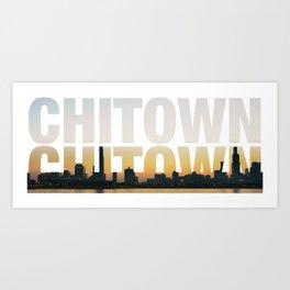 ChiTown Art Print