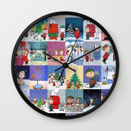 Peanuts Wall Clock