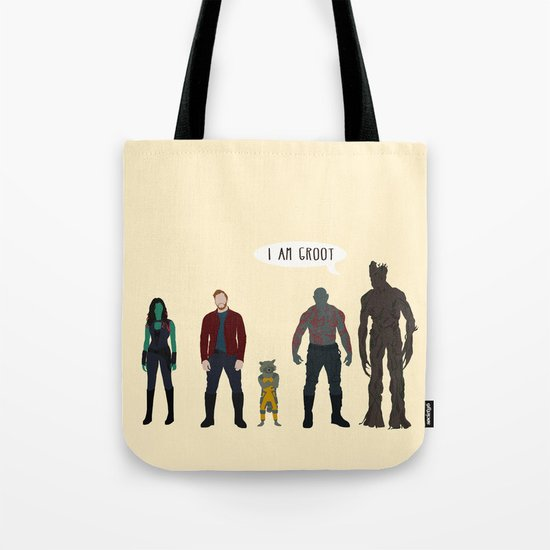 GUARDIANS OF THE GALAXY Tote Bag
