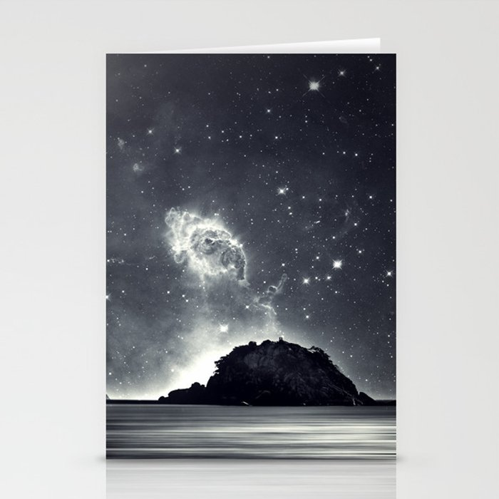 Island in the sea of eternity Stationery Cards