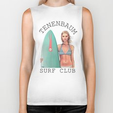 Margot Surfs Biker Tank
