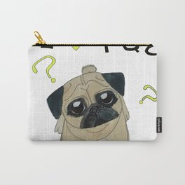 I Love Pug Carry-All Pouch