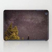 milky way iPad Cases featuring Milky way by Simon Laroche