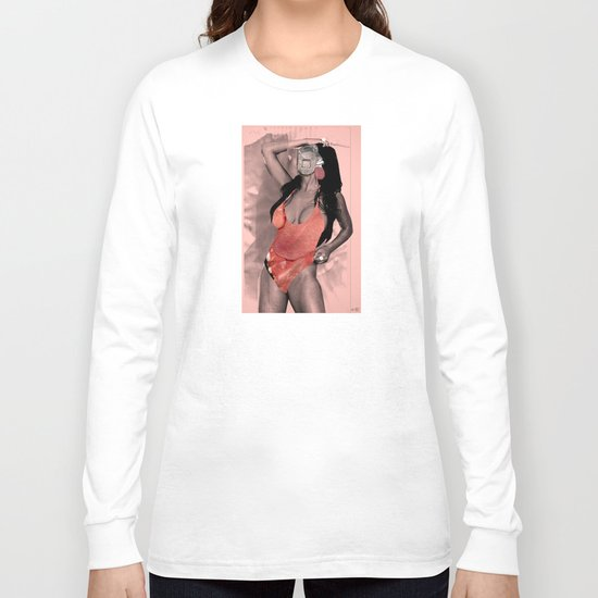 Fleisches Lust 10 - meat Collage Long Sleeve T-shirt