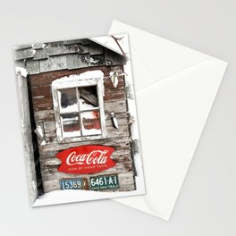 Snow Shed Vintage Signs Stationery Cards