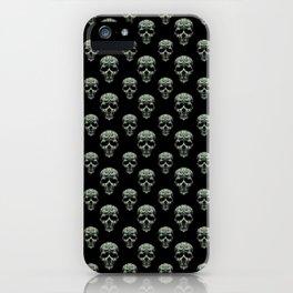 Skulls Motif Print Pattern iPhone Case