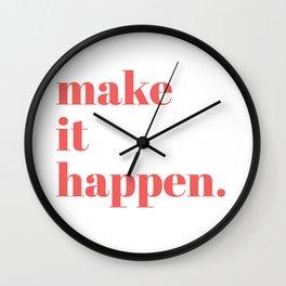 make it Wall Clock