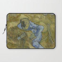 Vincent van Gogh - The Sheaf-Binder (after Millet) Laptop Sleeve