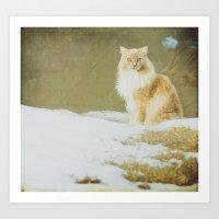 hermione Art Prints featuring Hermione by Kristybee