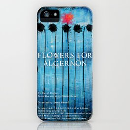Poster for Flowers for Algernon iPhone Case