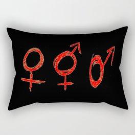 Symbol of Transgender 59 Rectangular Pillow