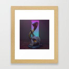Retro Cobra Framed Art Print