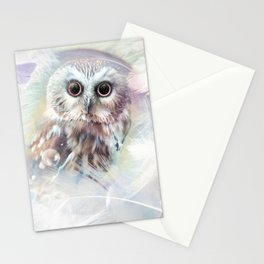 Chouette douceur Stationery Cards