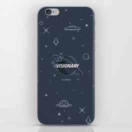 #Visionary iPhone Skin