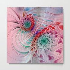 fractal design -121- Metal Print