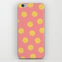 shingeki no kyojin iPhone & iPod Skins featuring Armin Blanket (Shingeki! Kyojin Chuugakkou) by kaposiopesis