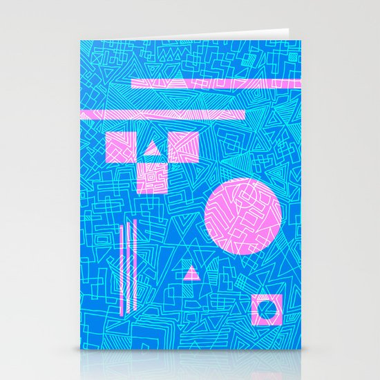 Futurism Stationery Cards