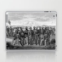 The Generals Of The Confederate Army Laptop & iPad Skin