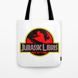 Jurassic Libris Tote Bag