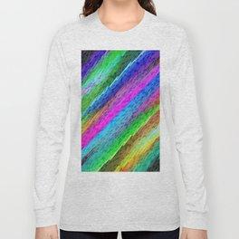 Colorful digital art splashing G478 Long Sleeve T-shirt