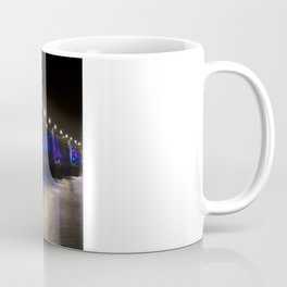 The Southwark Bridge at night Coffee Mug