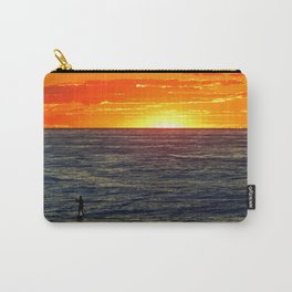 Paddle Boarding at Sunset Carry-All Pouch