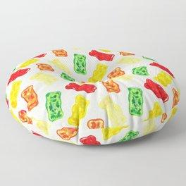 Gummy Bear Pattern Floor Pillow