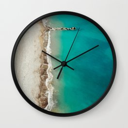 Fifty Shades of Kourion Wall Clock