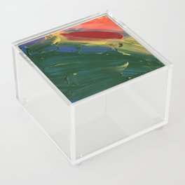 Rainbow Junk mail Acrylic Box